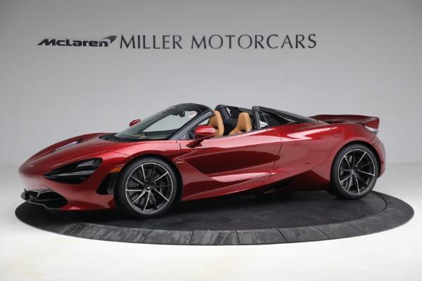 New 2022 McLaren 720S Spider for sale $382,090 at McLaren Greenwich in Greenwich CT 06830 2