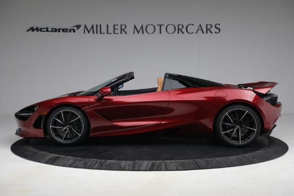New 2022 McLaren 720S Spider for sale $382,090 at McLaren Greenwich in Greenwich CT 06830 3