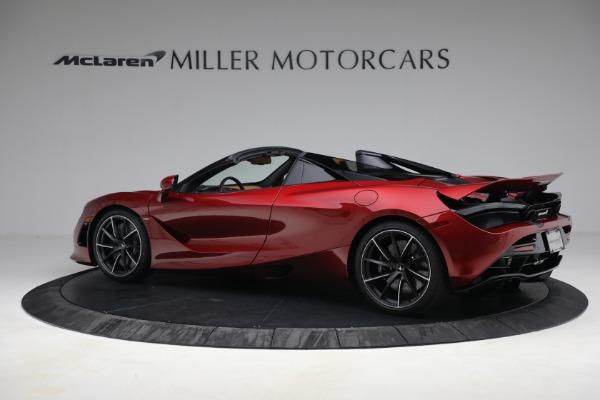 New 2022 McLaren 720S Spider for sale $382,090 at McLaren Greenwich in Greenwich CT 06830 4