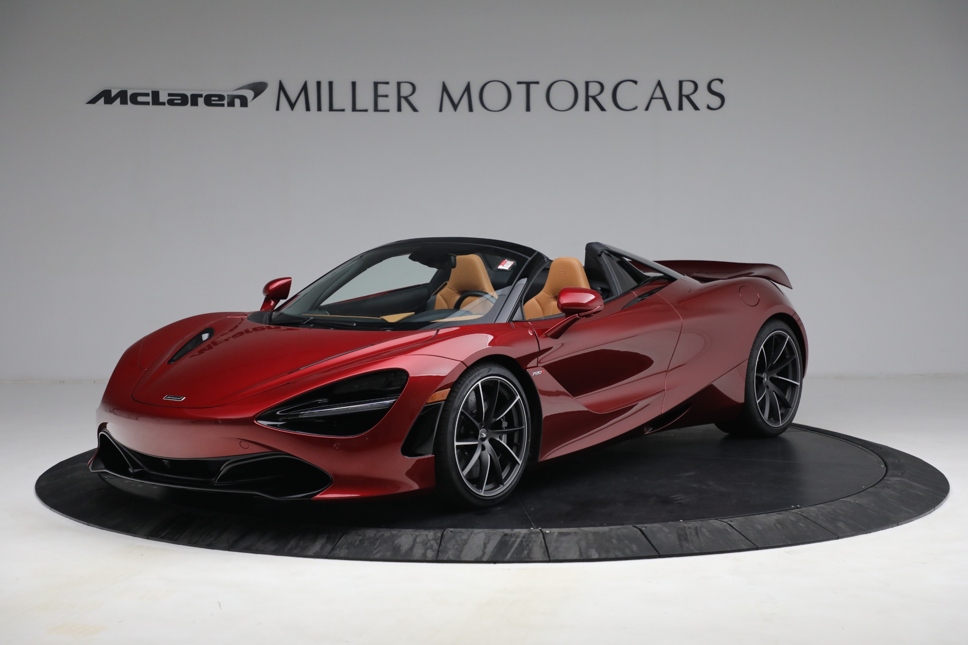 New 2022 McLaren 720S Spider for sale $382,090 at McLaren Greenwich in Greenwich CT 06830 1