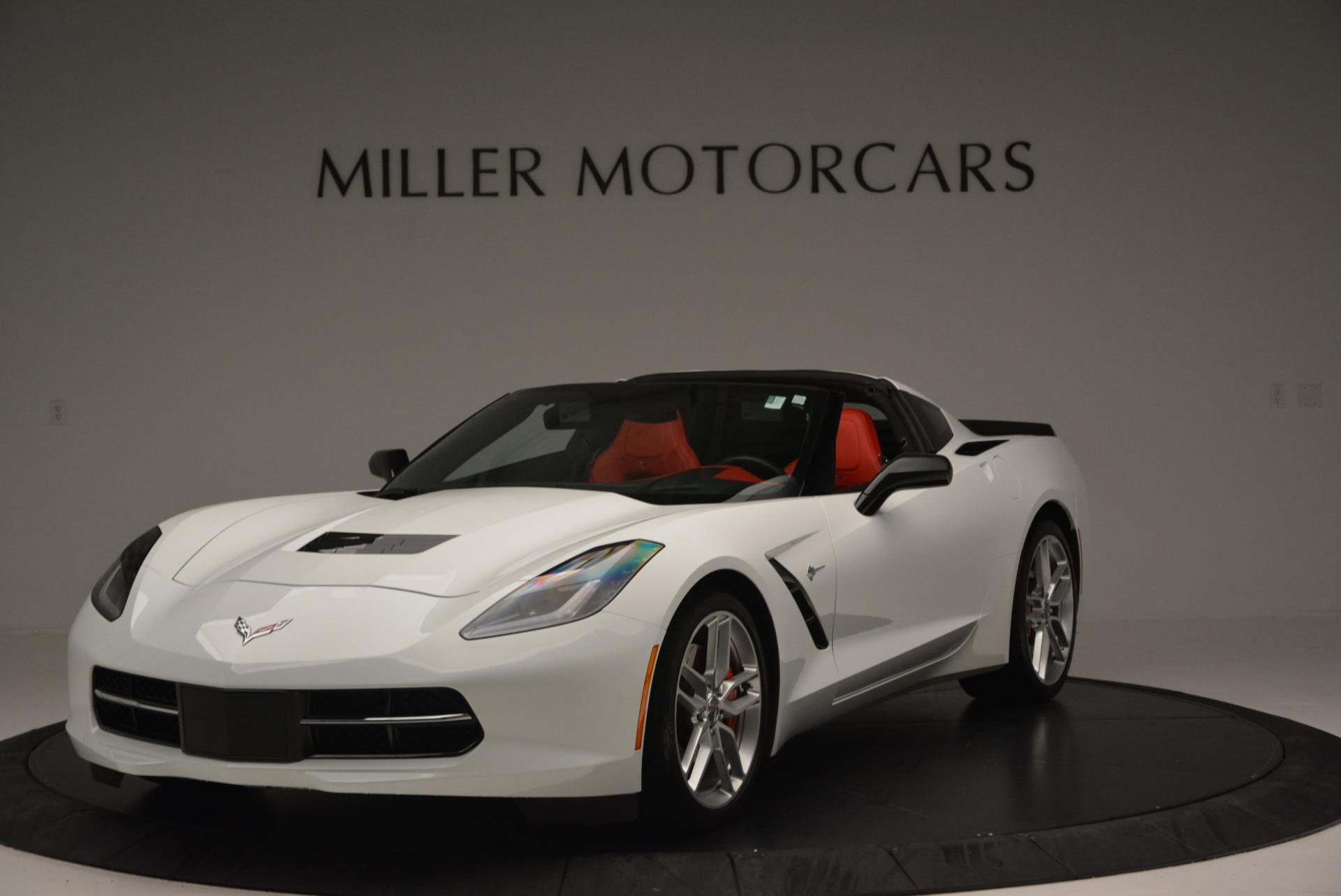 Used 2014 Chevrolet Corvette Stingray Z51 for sale Sold at McLaren Greenwich in Greenwich CT 06830 1