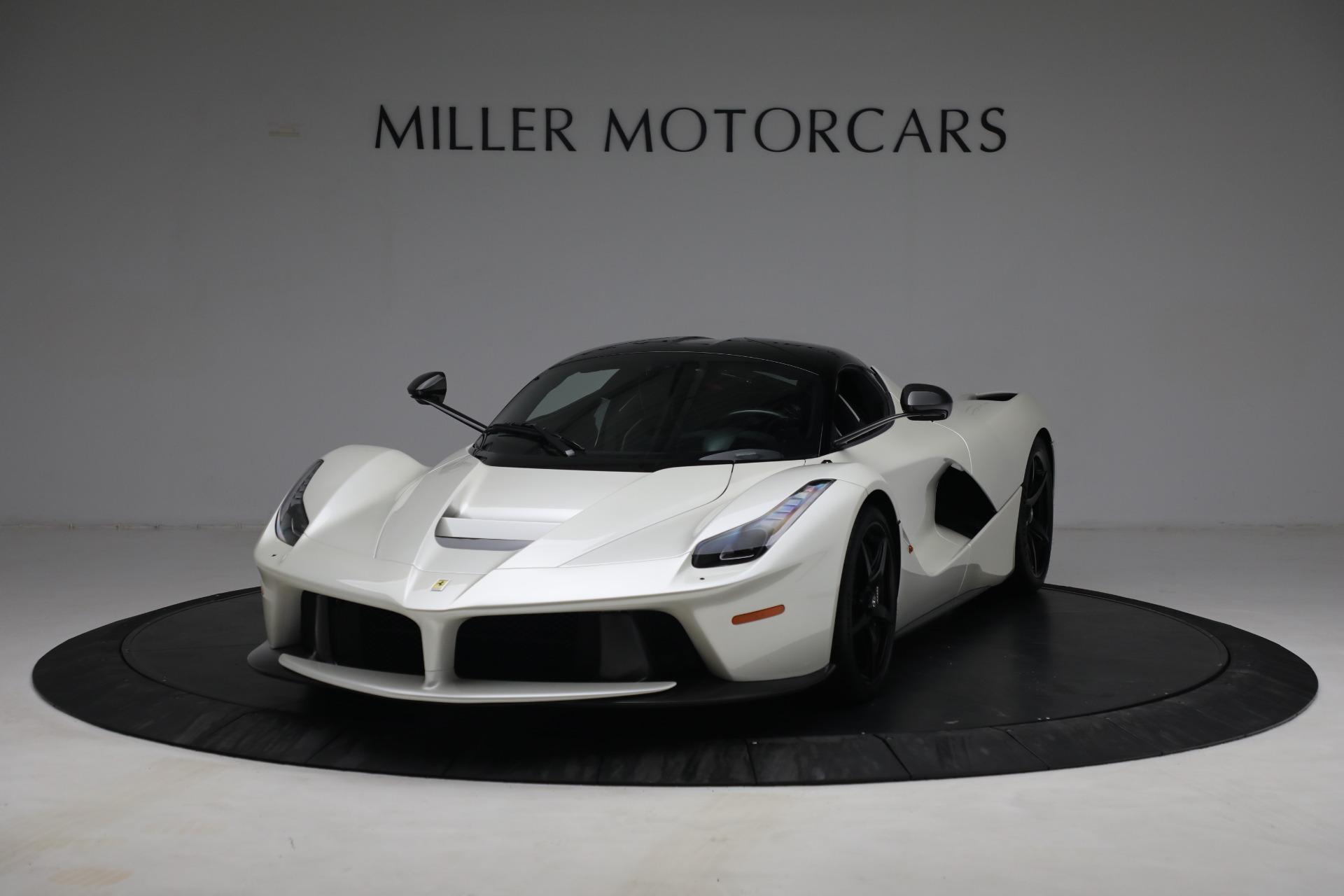 Used 2014 Ferrari LaFerrari for sale Call for price at McLaren Greenwich in Greenwich CT 06830 1