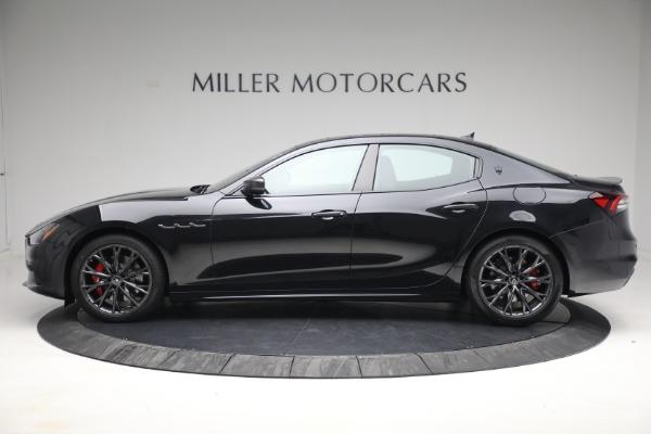 New 2022 Maserati Ghibli Modena Q4 for sale $103,855 at McLaren Greenwich in Greenwich CT 06830 3