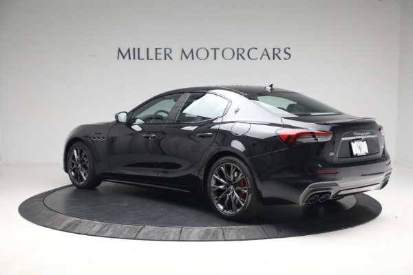 New 2022 Maserati Ghibli Modena Q4 for sale $103,855 at McLaren Greenwich in Greenwich CT 06830 4