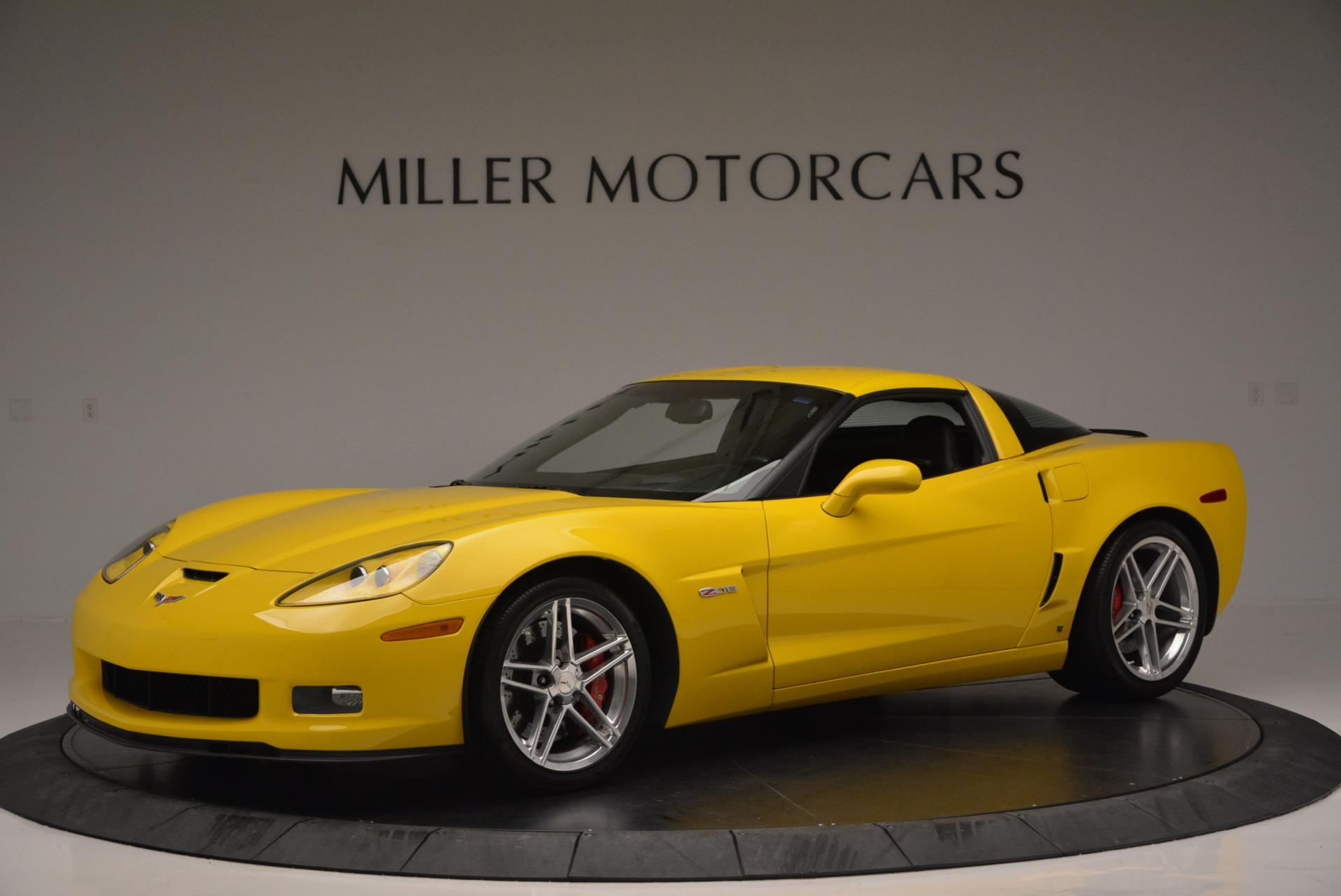 Used 2006 Chevrolet Corvette Z06 Hardtop for sale Sold at McLaren Greenwich in Greenwich CT 06830 1