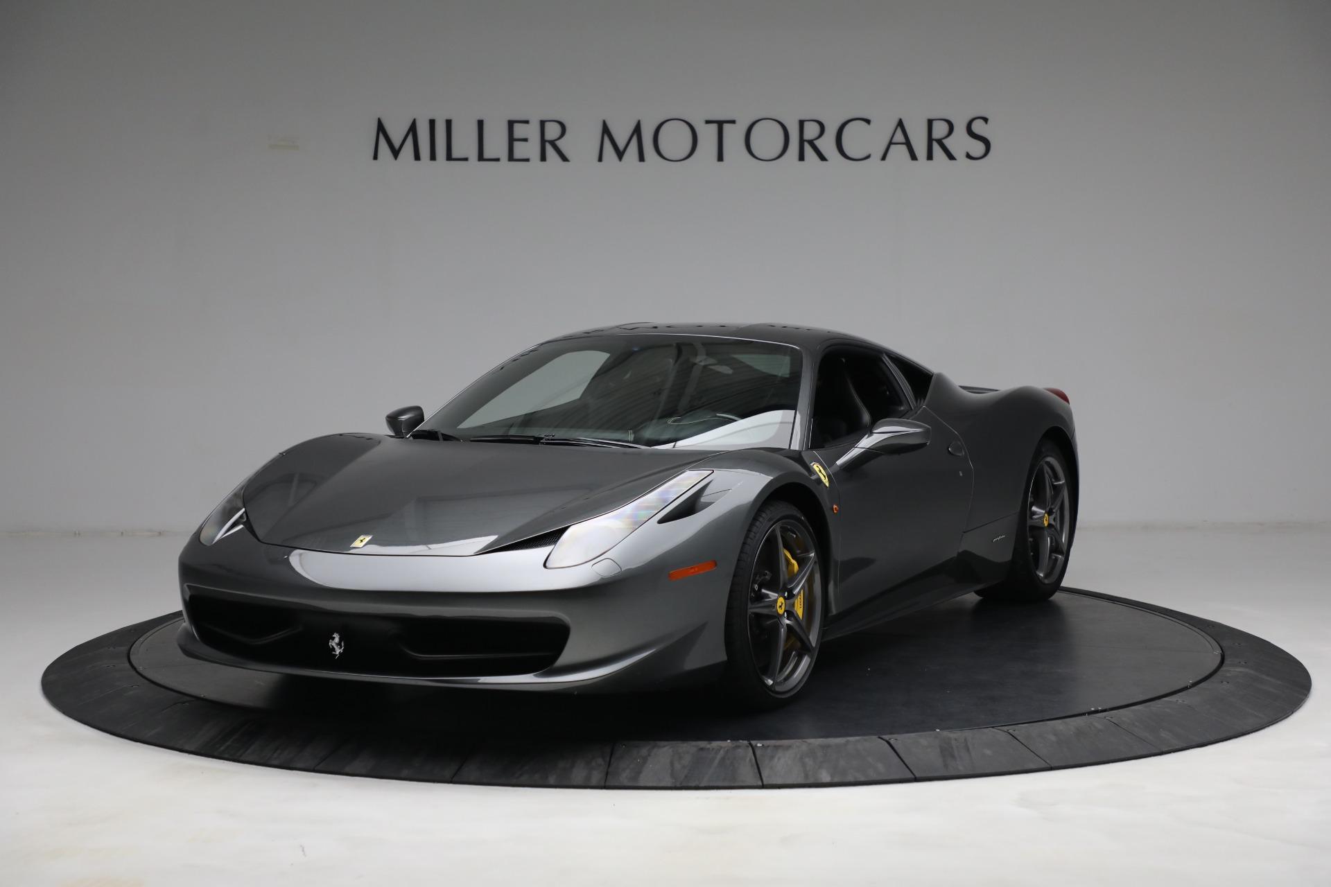 Used 2011 Ferrari 458 Italia for sale $229,900 at McLaren Greenwich in Greenwich CT 06830 1