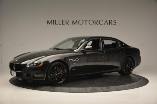 Used 2011 Maserati Quattroporte Sport GT S for sale Sold at McLaren Greenwich in Greenwich CT 06830 2