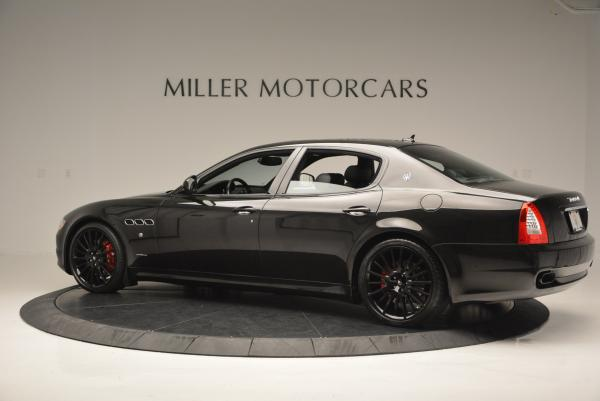 Used 2011 Maserati Quattroporte Sport GT S for sale Sold at McLaren Greenwich in Greenwich CT 06830 4