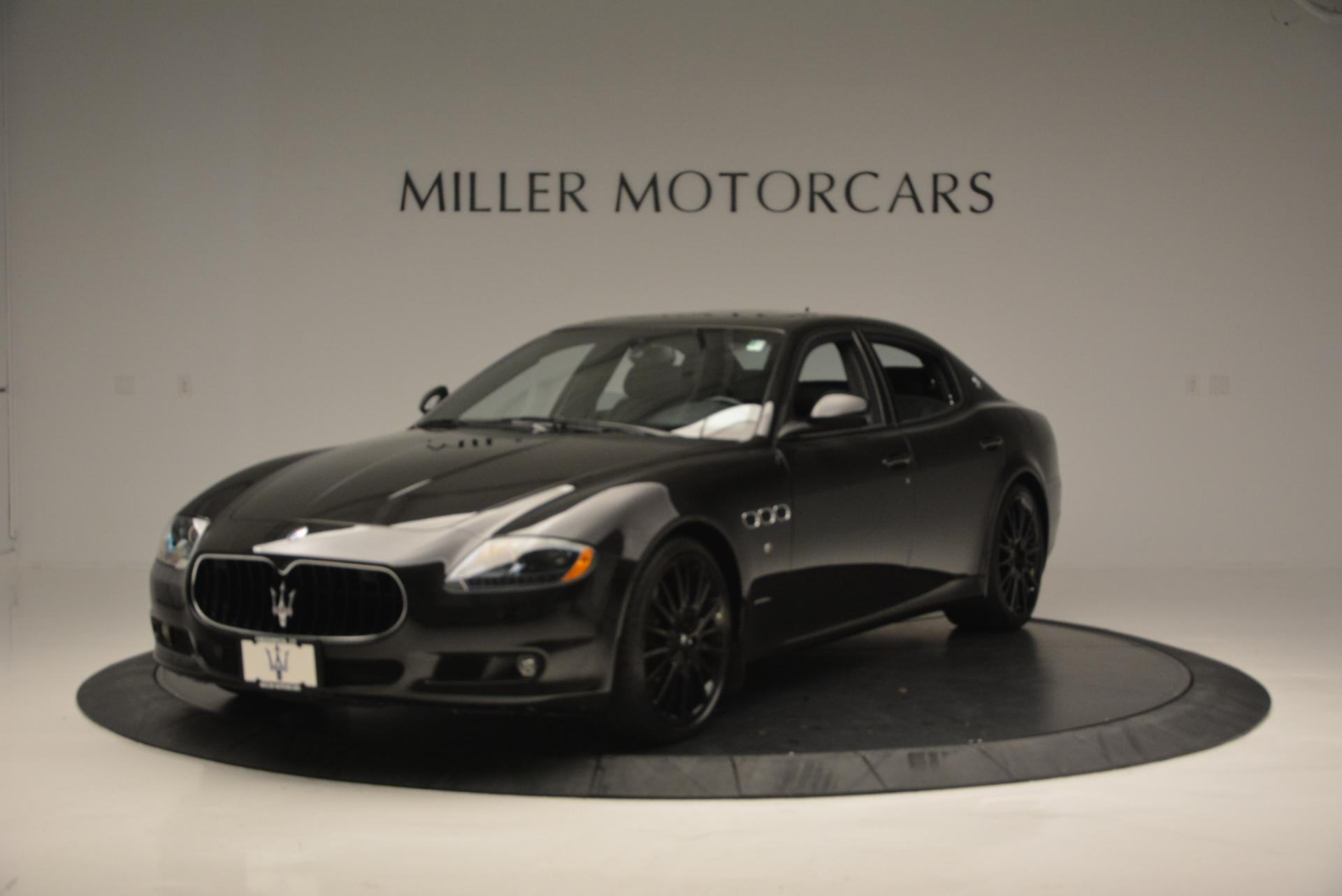 Used 2011 Maserati Quattroporte Sport GT S for sale Sold at McLaren Greenwich in Greenwich CT 06830 1