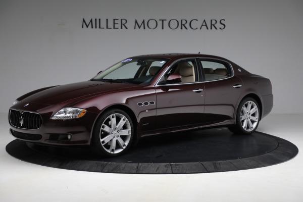 Used 2011 Maserati Quattroporte for sale $37,900 at McLaren Greenwich in Greenwich CT 06830 3