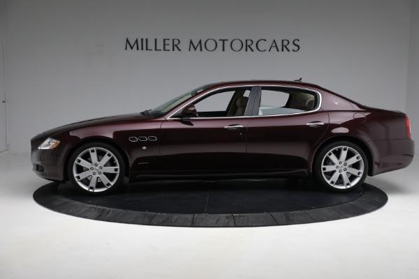 Used 2011 Maserati Quattroporte for sale $37,900 at McLaren Greenwich in Greenwich CT 06830 4