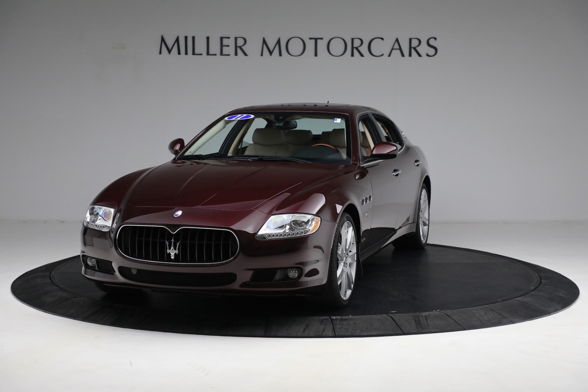 Used 2011 Maserati Quattroporte for sale $37,900 at McLaren Greenwich in Greenwich CT 06830 1