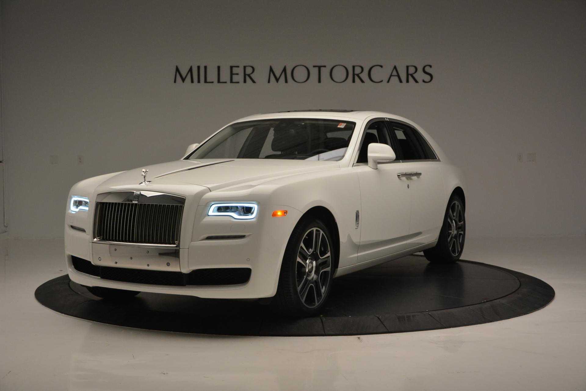 Used 2017 Rolls-Royce Ghost for sale Sold at McLaren Greenwich in Greenwich CT 06830 1