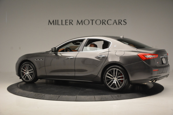 Used 2017 Maserati Ghibli S Q4  EX-LOANER for sale Sold at McLaren Greenwich in Greenwich CT 06830 4