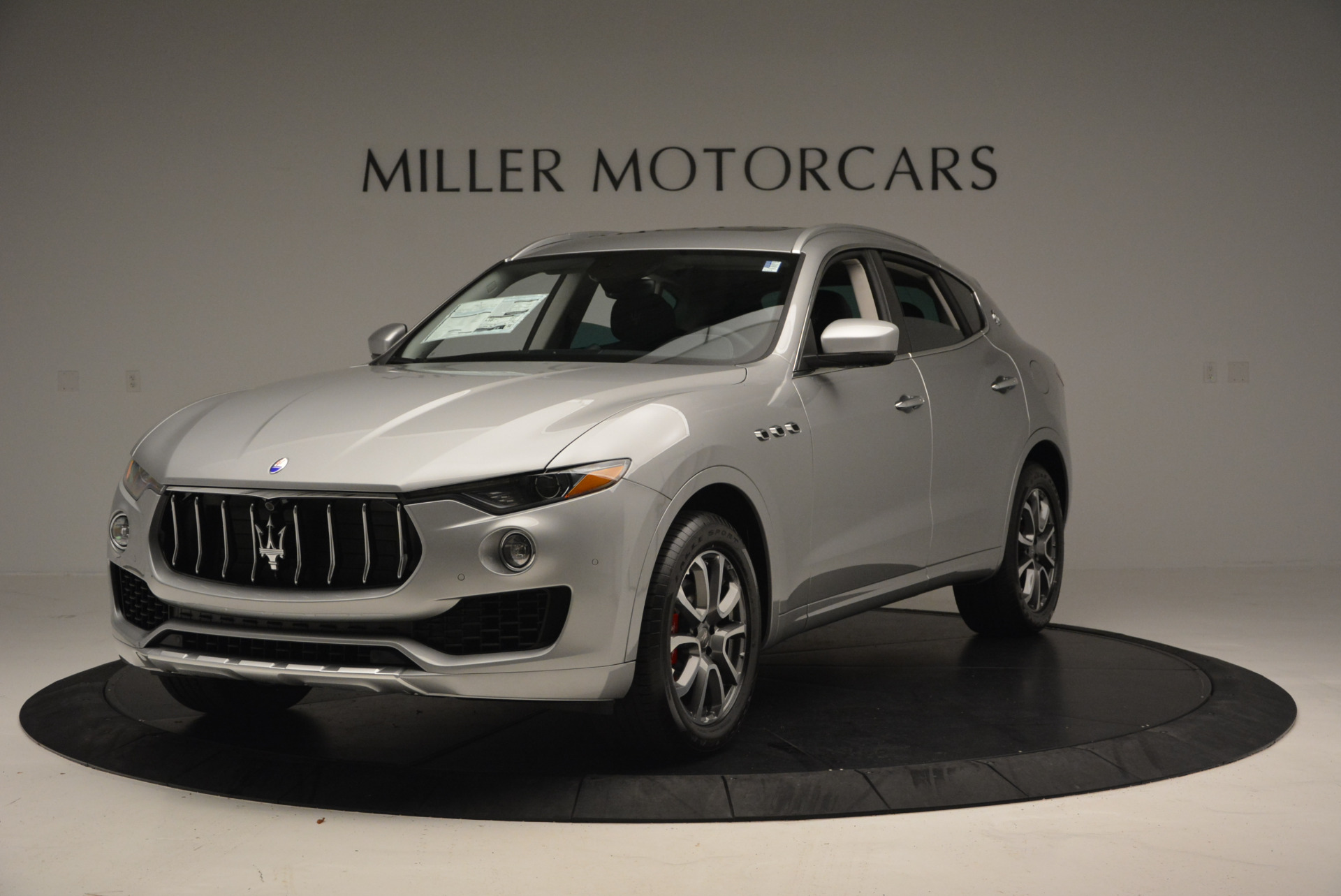 New 2017 Maserati Levante 350hp for sale Sold at McLaren Greenwich in Greenwich CT 06830 1