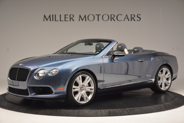 Used 2014 Bentley Continental GT V8 S Convertible for sale Sold at McLaren Greenwich in Greenwich CT 06830 2