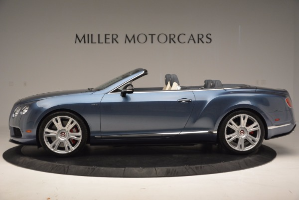 Used 2014 Bentley Continental GT V8 S Convertible for sale Sold at McLaren Greenwich in Greenwich CT 06830 3