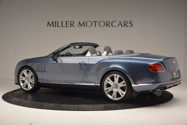 Used 2014 Bentley Continental GT V8 S Convertible for sale Sold at McLaren Greenwich in Greenwich CT 06830 4