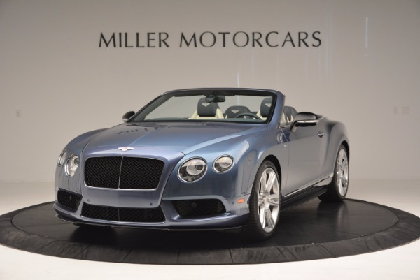 Used 2014 Bentley Continental GT V8 S Convertible for sale Sold at McLaren Greenwich in Greenwich CT 06830 1