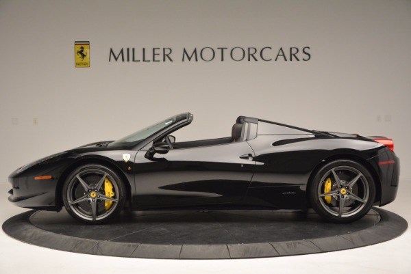 Used 2014 Ferrari 458 Spider for sale Sold at McLaren Greenwich in Greenwich CT 06830 3