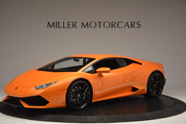 Used 2015 Lamborghini Huracan LP 610-4 for sale Sold at McLaren Greenwich in Greenwich CT 06830 2