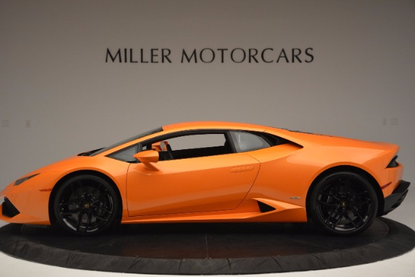 Used 2015 Lamborghini Huracan LP 610-4 for sale Sold at McLaren Greenwich in Greenwich CT 06830 3