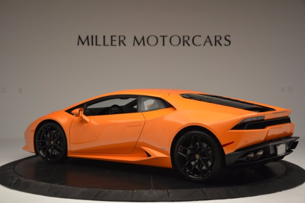 Used 2015 Lamborghini Huracan LP 610-4 for sale Sold at McLaren Greenwich in Greenwich CT 06830 4