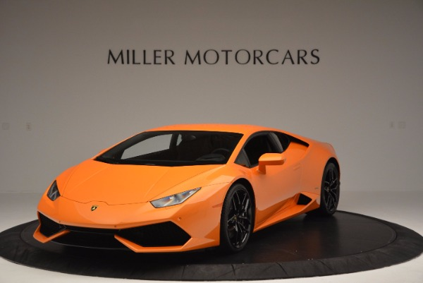 Used 2015 Lamborghini Huracan LP 610-4 for sale Sold at McLaren Greenwich in Greenwich CT 06830 1