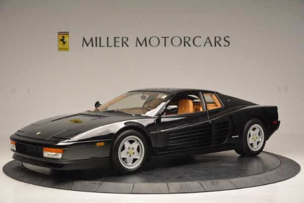 Used 1989 Ferrari Testarossa for sale Sold at McLaren Greenwich in Greenwich CT 06830 2