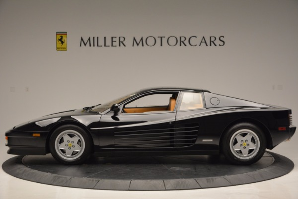 Used 1989 Ferrari Testarossa for sale Sold at McLaren Greenwich in Greenwich CT 06830 3