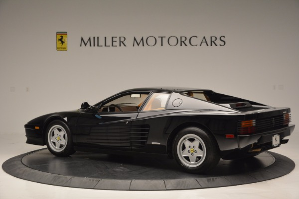 Used 1989 Ferrari Testarossa for sale Sold at McLaren Greenwich in Greenwich CT 06830 4