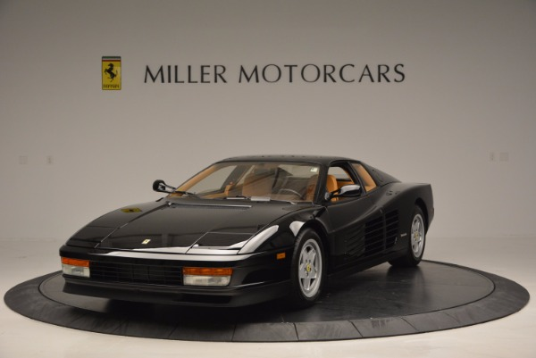 Used 1989 Ferrari Testarossa for sale Sold at McLaren Greenwich in Greenwich CT 06830 1