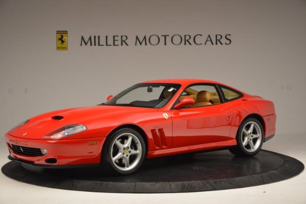 Used 2000 Ferrari 550 Maranello for sale Sold at McLaren Greenwich in Greenwich CT 06830 2