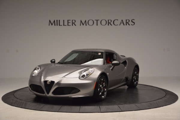 New 2016 Alfa Romeo 4C for sale Sold at McLaren Greenwich in Greenwich CT 06830 1