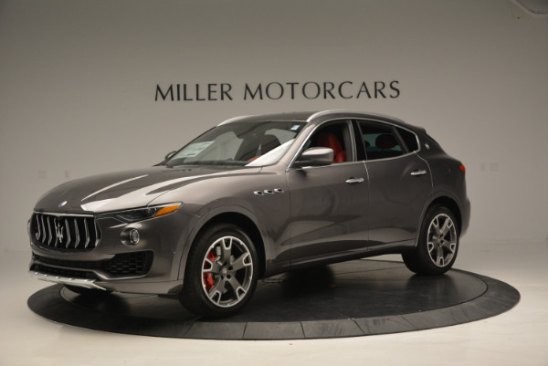Used 2017 Maserati Levante Ex Service Loaner for sale Sold at McLaren Greenwich in Greenwich CT 06830 2