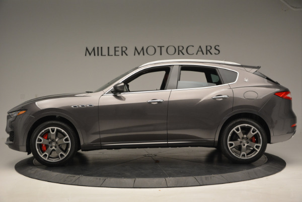 Used 2017 Maserati Levante Ex Service Loaner for sale Sold at McLaren Greenwich in Greenwich CT 06830 3