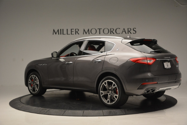 Used 2017 Maserati Levante Ex Service Loaner for sale Sold at McLaren Greenwich in Greenwich CT 06830 4