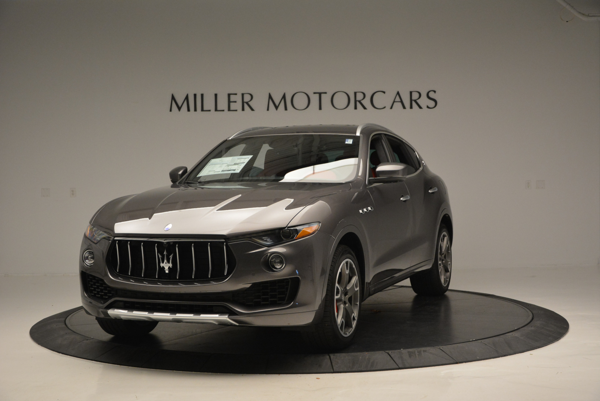 Used 2017 Maserati Levante Ex Service Loaner for sale Sold at McLaren Greenwich in Greenwich CT 06830 1
