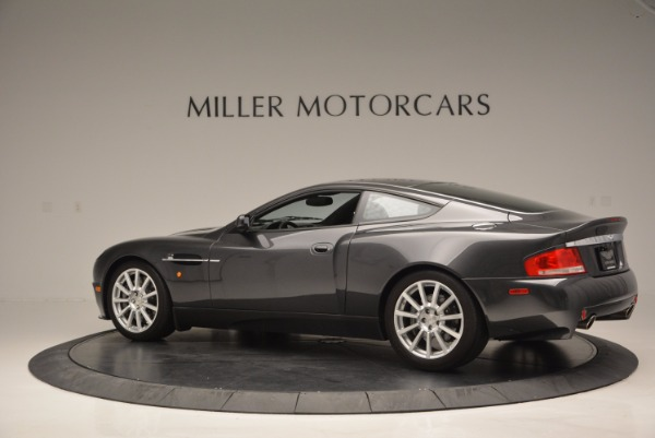 Used 2005 Aston Martin V12 Vanquish S for sale Sold at McLaren Greenwich in Greenwich CT 06830 4