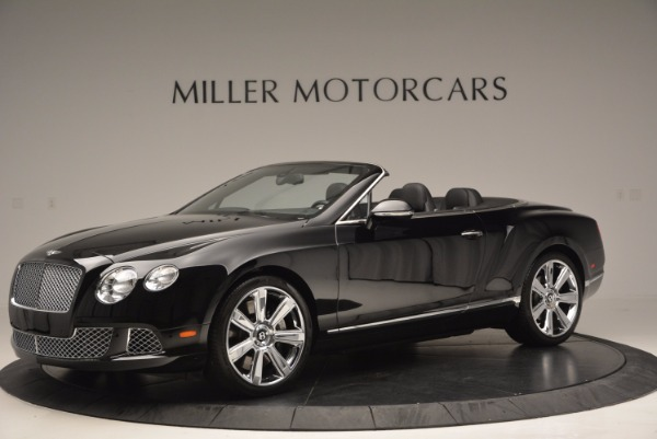 Used 2013 Bentley Continental GTC for sale Sold at McLaren Greenwich in Greenwich CT 06830 2