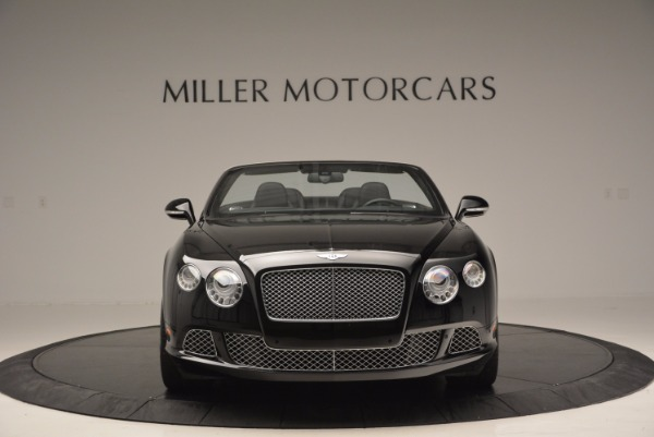Used 2013 Bentley Continental GTC for sale Sold at McLaren Greenwich in Greenwich CT 06830 3