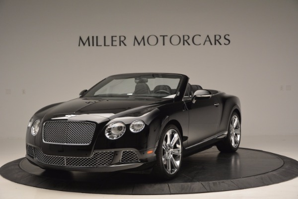 Used 2013 Bentley Continental GTC for sale Sold at McLaren Greenwich in Greenwich CT 06830 1