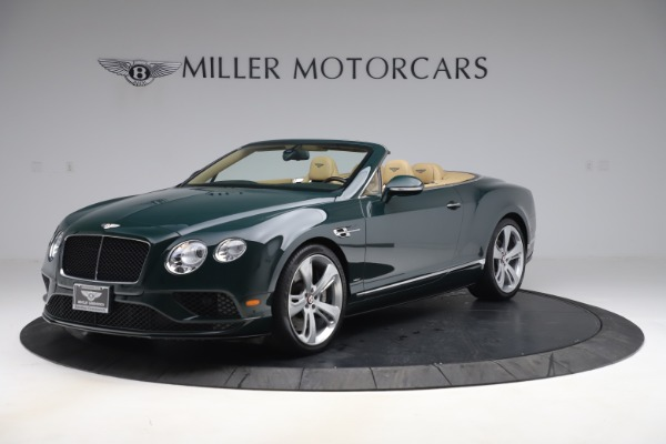 Used 2017 Bentley Continental GTC V8 S for sale $145,900 at McLaren Greenwich in Greenwich CT 06830 2