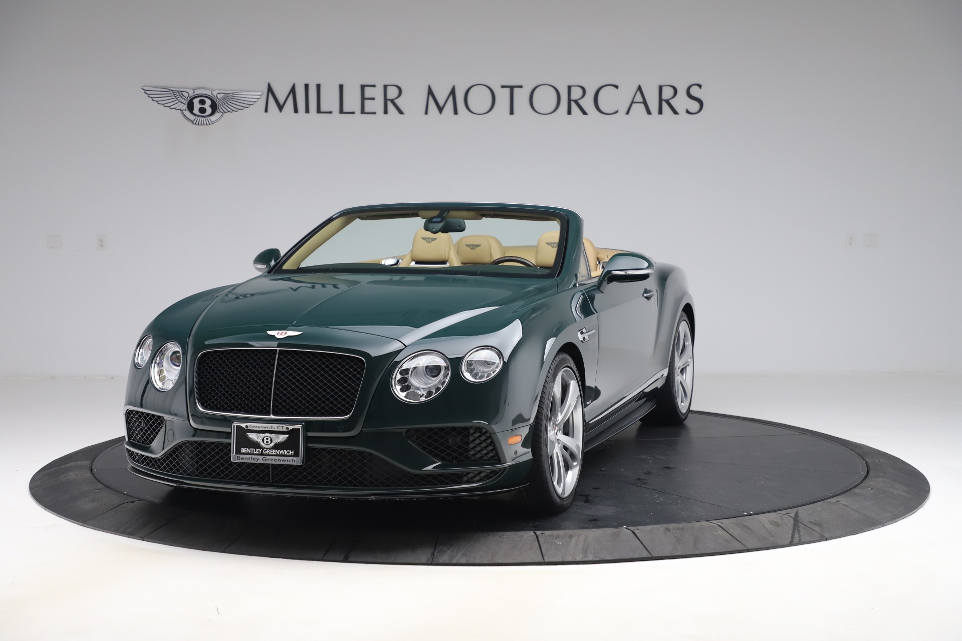 Used 2017 Bentley Continental GTC V8 S for sale $145,900 at McLaren Greenwich in Greenwich CT 06830 1