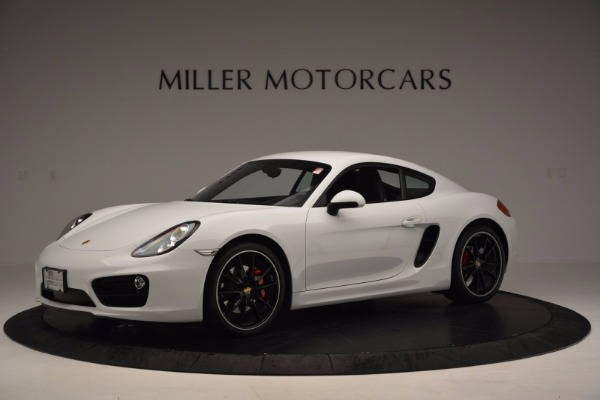 Used 2014 Porsche Cayman S for sale Sold at McLaren Greenwich in Greenwich CT 06830 2
