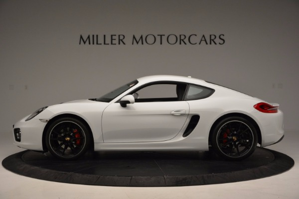 Used 2014 Porsche Cayman S for sale Sold at McLaren Greenwich in Greenwich CT 06830 3