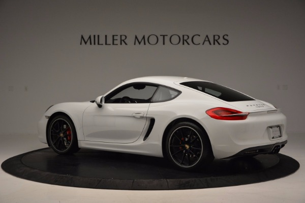 Used 2014 Porsche Cayman S for sale Sold at McLaren Greenwich in Greenwich CT 06830 4