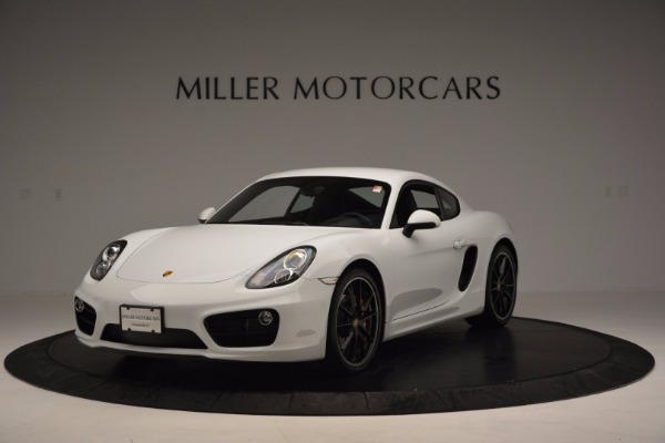 Used 2014 Porsche Cayman S for sale Sold at McLaren Greenwich in Greenwich CT 06830 1