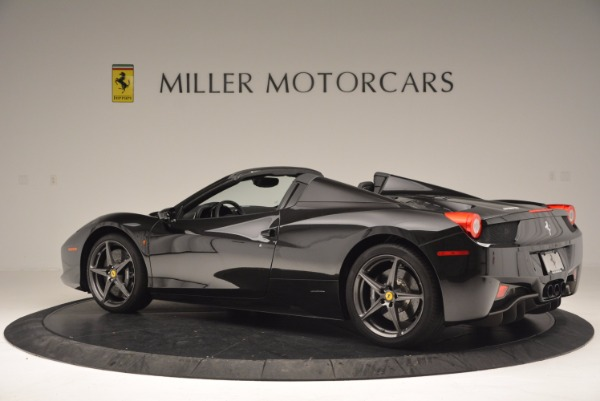 Used 2015 Ferrari 458 Spider for sale Sold at McLaren Greenwich in Greenwich CT 06830 4