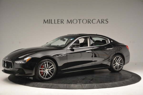 Used 2016 Maserati Ghibli S Q4  EX-LOANER for sale Sold at McLaren Greenwich in Greenwich CT 06830 2